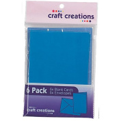 Craft Creations Card Packs Blue 6 Pack