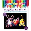Kaleidoscope Glow Bugs Boxed Craft Kit 3 Pack
