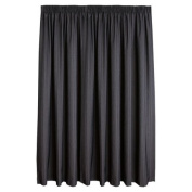 Habito Limited Edition Curtains Urban Charcoal Extra Large 205cm Drop