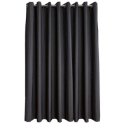 Habito Limited Edition Curtains Urban Eyelet Charcoal Large 160cm Drop