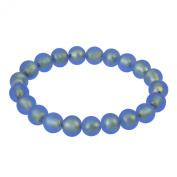 Alek Sander Murano Star Stars Murano Glass Women Bracelet Flex - Laguna Blue