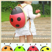 # 1 selling Ladybird Backpack/Rucksack - RED. Unique 3D design - waterproof with internal mesh pocket - ideal for school/lunch/nursery. Dispatched from the UK