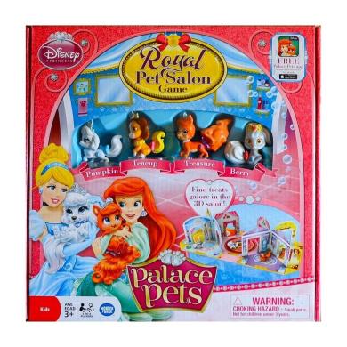 Disney Princess Royal Palace Pet Salon 3D Board Game