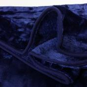 Gözze Cashmere-Feeling Throw, navy, 130 x 170 cm