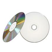 5 x Traxdata Blank Discs CD CD-R 52x Diamond Silver / White Printable in Sleeves
