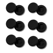 SODIAL(R) AUDIO Replacement Foam Earpads 6 PACK for Sennheiser PX100 / PMX100 / PMX 60 II / PMX200 / PX200 / PXC150 / PXC250 / MM 60 IP / Sony MDR 410 / Sony MDR-101 / SONY MDR-110LP / Panasonic / Philips / Skype Also Compatible With Most Other Headpho ..