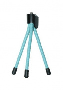 Blue Colour Tripod for FLIP MINO / MINO HD / ULTRA / ULTRA HD - For All Flip models - Flexible Mini Tripod - AAA Products