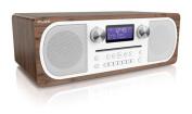 Pure Evoke C-D6 Stereo Digital DAB/FM Radio with CD and Bluetooth – Walnut