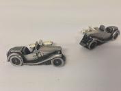 MG Midget TC 3D cufflinks classic car pewter effect cufflinks ref136