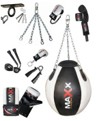 New Maxx Wrecking ball punch bag set, choice of colours + package FREE CHAIN