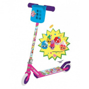 Shopkins Inline Scooter with Basket and 6 Collectables