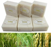 12 Bars - Pure Milky Jasmine Rice Milk & Pearl Soap 65g per Bar