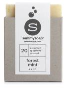 sammysoap All Natural Soap Bar Forest Mint
