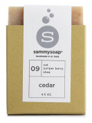 sammysoap All Natural Soap Bar Cedar