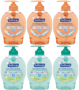Softsoap Antibacterial Liquid Hand Soap with Moisturisers, 220ml Pump (Pack of 6)
