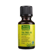 Thursday Plantation Tea Tree Pure Oil 25ml for Relieves minor cuts, burns, abrasions, pimples, bites and stings, made in Australia, with one gift