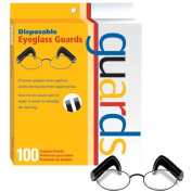 Disposable Eyeglass Guards 100/Box For Hair Colour by Product Club