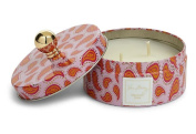 Vera Bradley Macaroon Rose Scented Candle in Gift Giving TIn