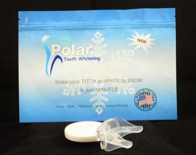 Polar's 5 LED light is 5x stronger 5x faster whitening