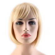 Sexybaby Short BOB Wig Cosplay Full Wigs 100% Real Synthetic Fibre Hair Extensions Heat Resistant Free Post US Local Stock