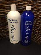 Mevys Original Keratin Treatment & Clarifying Shampoo