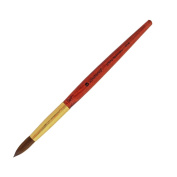 Winstonia Professional Rose Wood Kolinsky Acrylic Nail Brush (Size 8, 10, 12, 14, 16, 18) 100% Pure Kolinsky Hair