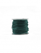FreshHear 10m Leather Cord Colour Lake Green Size 1.5x1.5mm