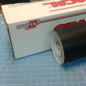 60cm x 3m Roll of Oracal 651 Matte Black Vinyl for Craft Cutters and Vinyl Sign Cutters