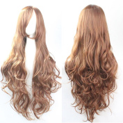 """Prettybuy 32"""" 80cm Long Hair Spiral Curly Cosplay Costume Wig"""