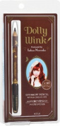 DOLLY WINK Koji Eyebrow Pencil, 03 Bitter Chocolate, 0.2kg