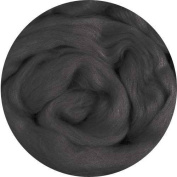 Merino Wool Roving for Felting - 30ml Charcoal