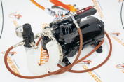 Sparmax Achieve TC501N airbrush air Compressor with Harder and Steenbeck Infiniry CR 2in1 airbrush. by SprayGunner