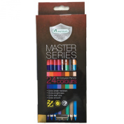 Master Art Master Series 24 Bi-Coloured Colour, 12 Pencils, 24 Colours