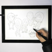 Creazy® Portable A4 USB DC 5V Copy Board LED Art Craft Tracing Light Pad Drawing