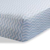 Bassinet Sheet for Baby / Infant Deep Fitted Soft Jersey Knit by Abstract 41cm x 80cm