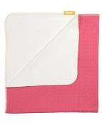 Organic Crib Blanket - Blush Pink