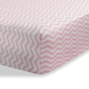 Cradle Sheet for Baby / Infant Deep Fitted Soft Jersey Cotton Knit by Abstract - 46cm x 90cm