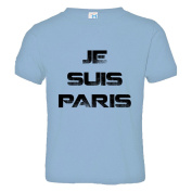 Toddler Je Suis Paris - I Am France - Support France Soft-Style High Quality Tee