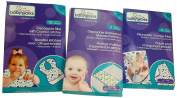 Babyworks Disposable Bibs, Change Mats, Waterproof Mattress Protectors - Nappy Travel Kit