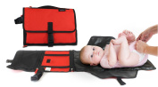 Anvy & Me Nappy Changing Clutch with Changing Pad for Baby Infants and Toddlers Nursery Travel Accessories.
