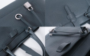 Natural leather Togo Piana tote cross back 015B