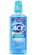 ACT Restoring Anticavity Fluoride Mouthwash, Cool Mint - 530ml Per Bottle