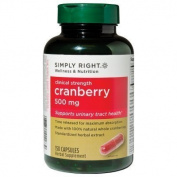 Simply Right Cranberry - 500mg - 150 ct. by silp-art