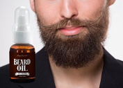 Beard Oil and Beard Comb Kit 100% Pure & Natural Unscented - Best for Groomed Beard Growth, Moustache, Face and Skin Softens Your Beard and Stops Itching