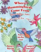 Where Hummingbirds Come from Bilingual Bhutanese English
