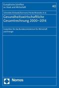 Gesundheitswirtschaftliche Gesamtrechnung 2000-2014 [GER]