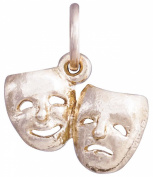 Helen Ficalora Theatre Masks Mini Charm