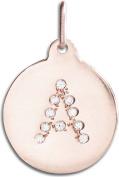 "Helen Ficalora ""A"" Alphabet Charm Pave Diamonds"