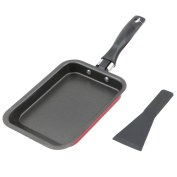 MyLifeUNIT Japanese Omelette Pan with Spatula, Nonstick Omelette Pan Tamagoyaki Egg Pan