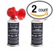 ATTWOOD BOAT MARINE SAFETY SPORTS HAND HELD 45ml SMALL AIR HORN 2 PACK